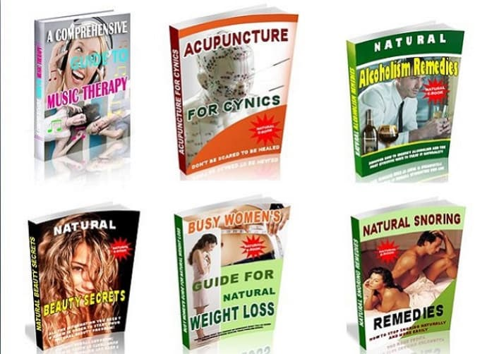 15 Ebooks on Natural Remedies & Alternative Medicine