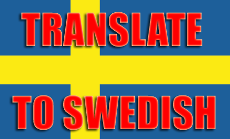 Translate English Into Swedish