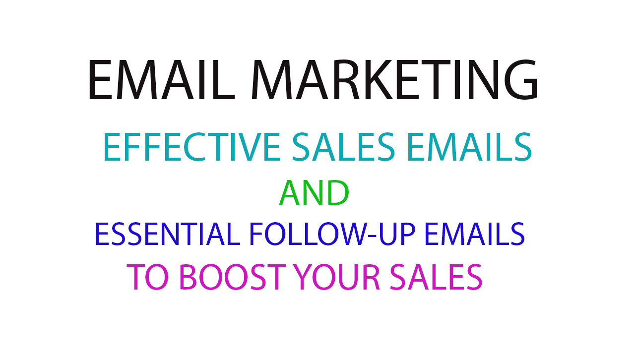 Write SALES EMAIL for Your Email Marketing Campaign to Increase Your SALES