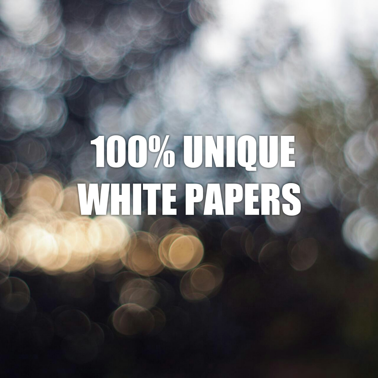 Deliver Short White Papers 1100 words