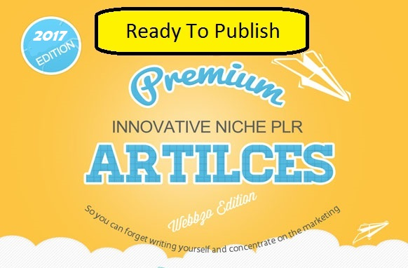 1133 Premium Ready To Publish PLR Articles About Arts...