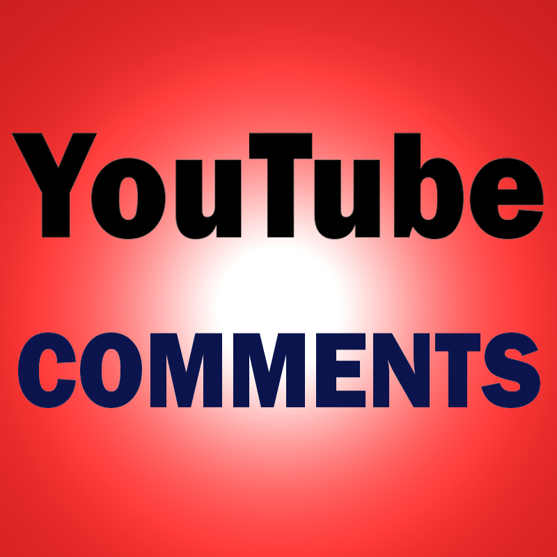 Add 20 relevant YouTube comments to your video