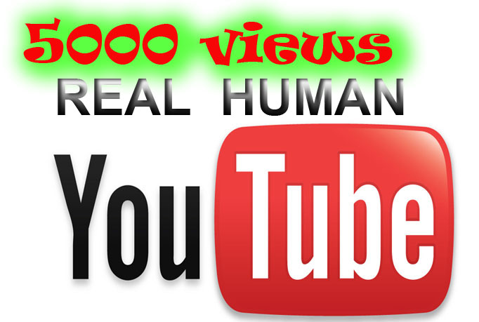 5000 REAL video views very fast