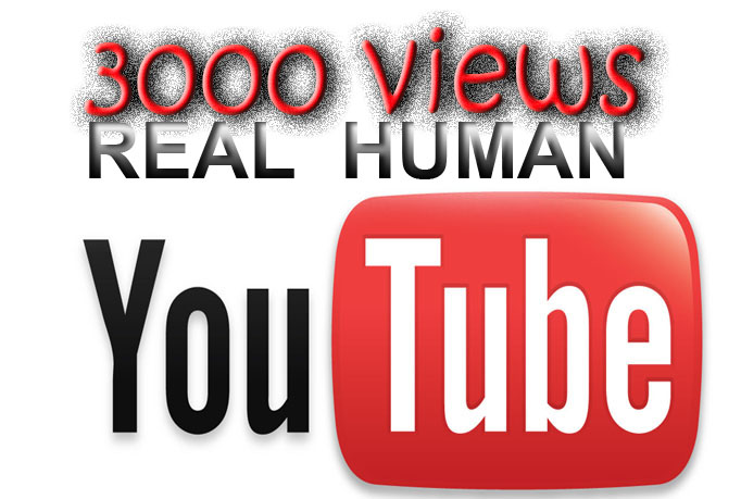 3000 REAL video views very fast