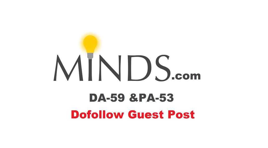 Write and Publish Guest Post on Minds with Dofollow Link [65% Discount For Limited]