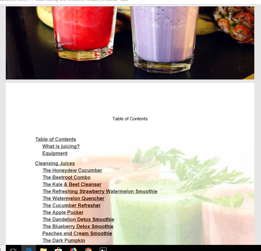 111 Juicing and Smoothie Recipes with Pictures eBook
