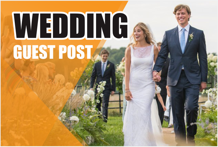 do guest post on WEDDING related blogs