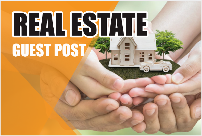 do guest post on REAL ESTATE related blogs