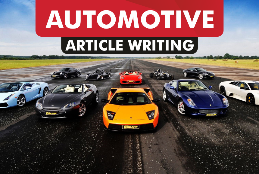 article writing for AUTOMOTIVE blog