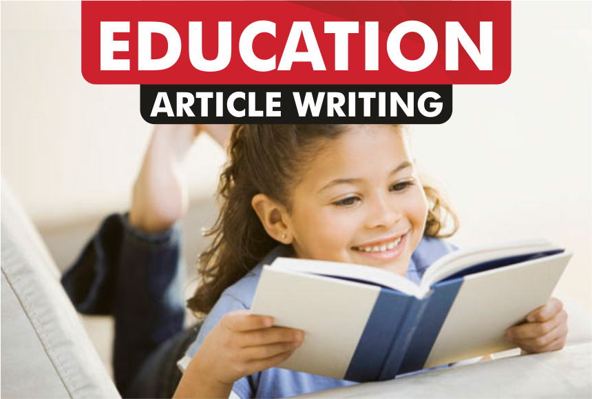 article writing for EDUCATION blog