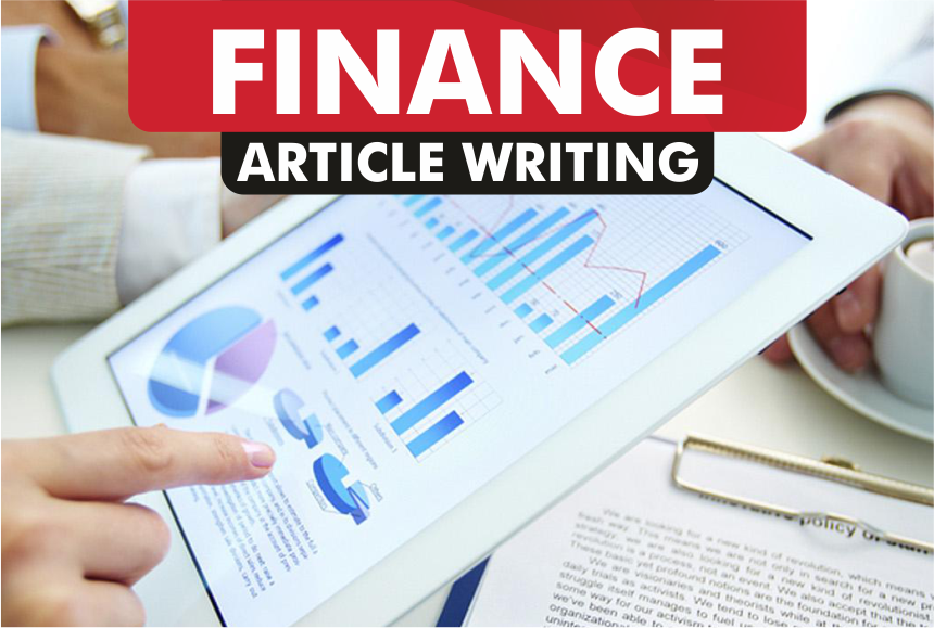 article writing for FINANCE blog
