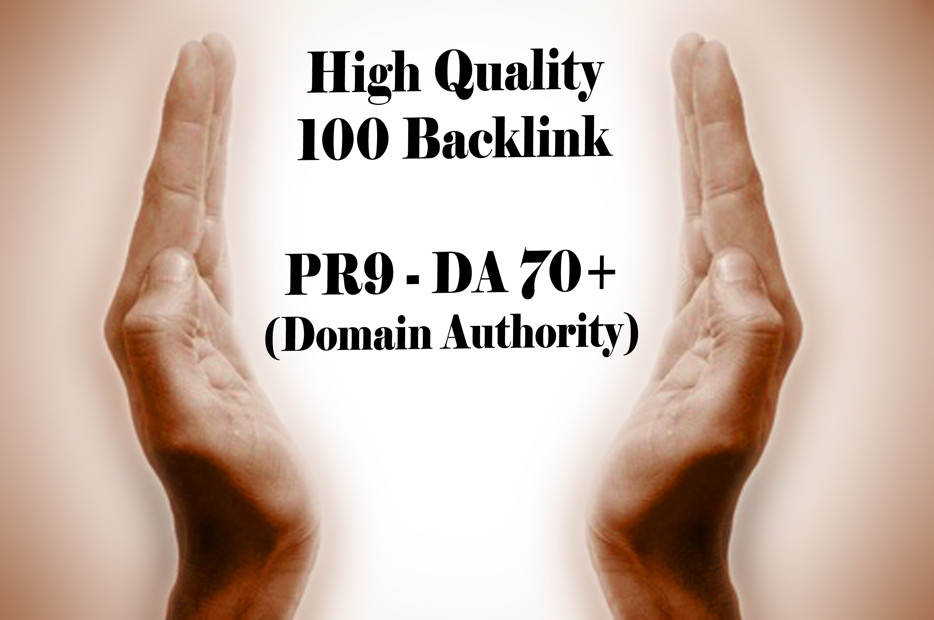 100 PR9 - DA 70+ backlink (Domain Authority)