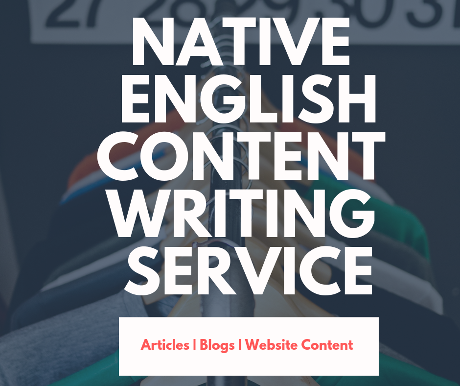 Premium Articles Blogs Websites Content Writing Service by a Native English Content Writer