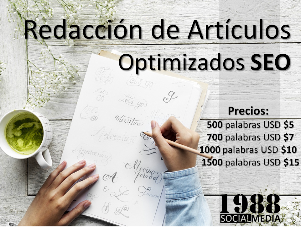 I Write 700 Word SEO Optimized Articles in Spanish LATAM