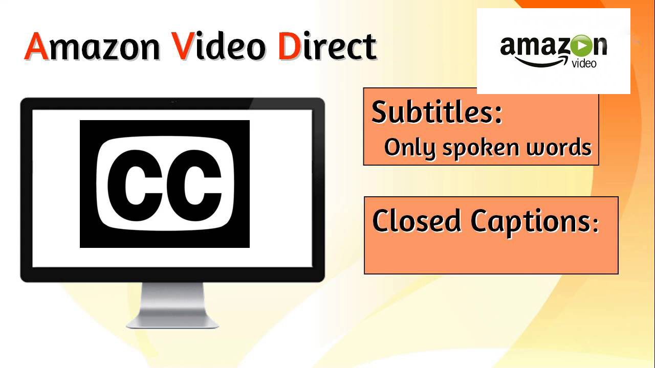 Get Closed Captions For Your Videos On Amazon Video D...