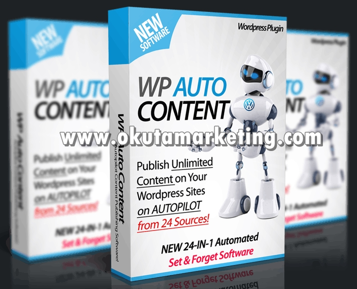 Sale Price WP Automated Content Website With Fresh Li...
