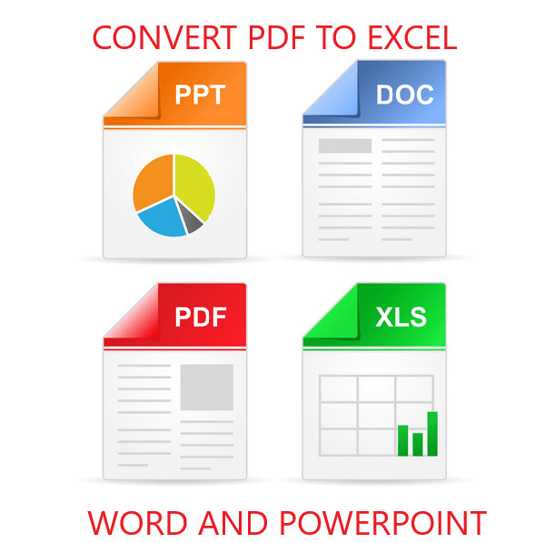 Data Entry work with PDF, Excel, Word