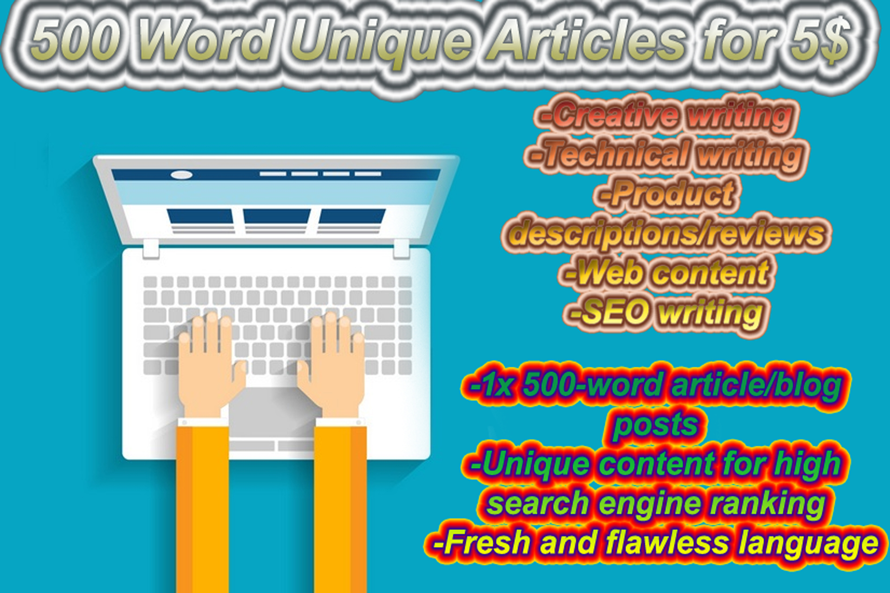 550 words Content That Add Value To Audience/Any Niches @$3