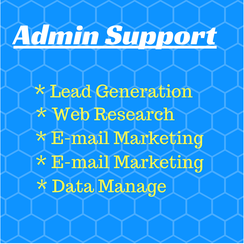 Administrative Support, Virtual Office Assistant, Data Arrangement