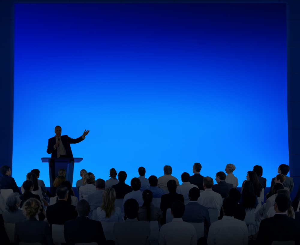 An amazing speech just to attract your audience with presentation.