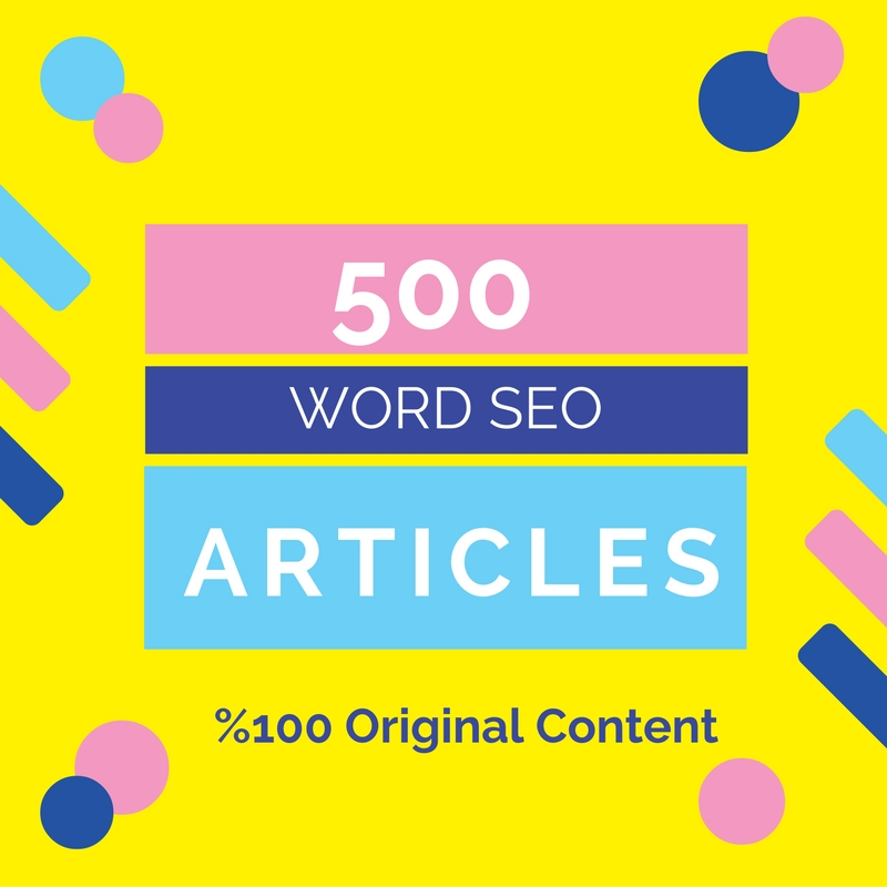 Will write a high-quality 500 word article