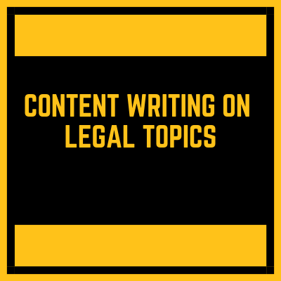 Compelling content writing service for legal law topics by English speaking writer