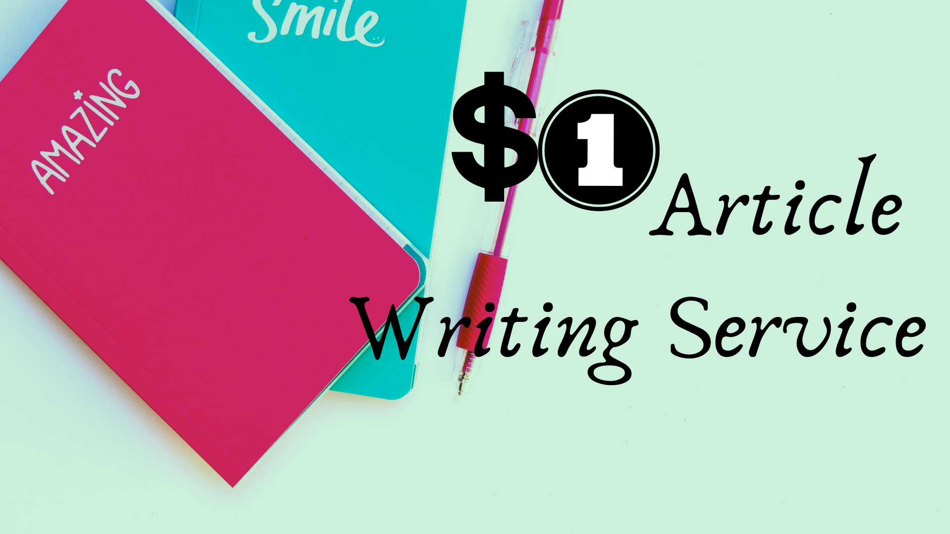 One dollar article writing service