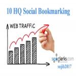 10 High-Quality Social Bookmarks Backlink
