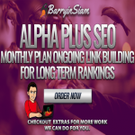 Alpha PLUS SEO v4 -Less Than 2 Bucks a Day,  Your Monthly SEO is Taken Care Of