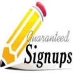 Get you 14 genuine signups