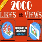 Get Instant 2000 Likes Or 2000 Views In Your Posts