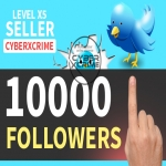Get you 10000+ HQ TW followers in less then 24 hours