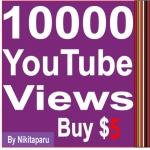 Super Fast 10000 YouTube High retention Views