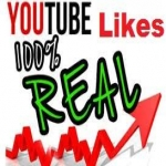 Provide you 1000+ Real Youtube Likes instantly
