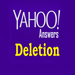 Will Do Yahoo Answers URL Deletion for ORM Purpose