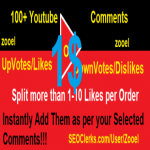 Add Instant 100+ YouTub Co-mment Upvote