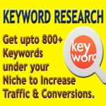 Get 200-800 Keywords with Professional Keyword Research Under your Niche