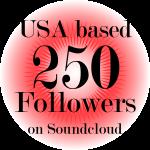 250 real USA SoundCloud Followers