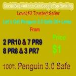 Manual Penguin Safe 30 Social Profile Links from DA60+ or PR6-PR10