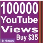 Provide you 100,000+ Non Drop youtube views
