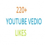 add 220 + High Quality Active YouTube Video Iikes.
