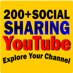 Do 200+ Social Sharing SEO for YouTube
