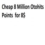 Cheap 8 Million Otohits Points