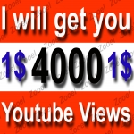 Fast get U 1000+ HR Youtube Views within 1-3 hours