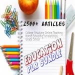 2500 Education PLR Articles bundle