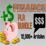 12000 Finance PLR Articles bundle