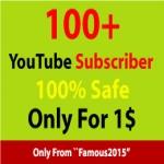 500+ Non-Drop You. Tube subscriber Or 150+ You. tube Likes