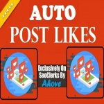 Get Automatic 100 Likes Each To Your 20 Upcomming Social Media Posts