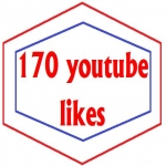 Give 170 youtube likes or 20 H. Q Custom Comments