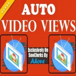 Get Automatic 1000 Views Each To Your 10 Upcomming Social Media Videos